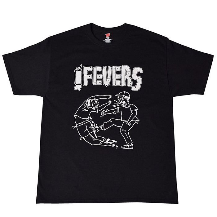 FEVERINC CARTOON FEVER TEE_BLACK