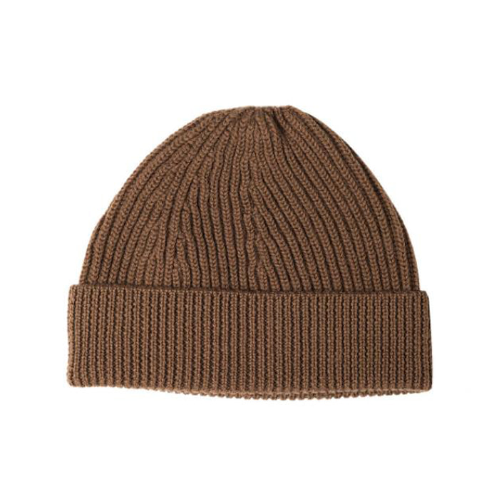 [니들워크] KNIT BEANIE-TYPE SHORT _ Brown