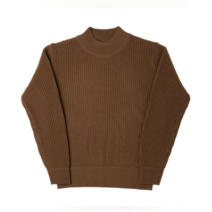 [니들워크] MIL CREW KNIT(FOR WINTER)-BROWN