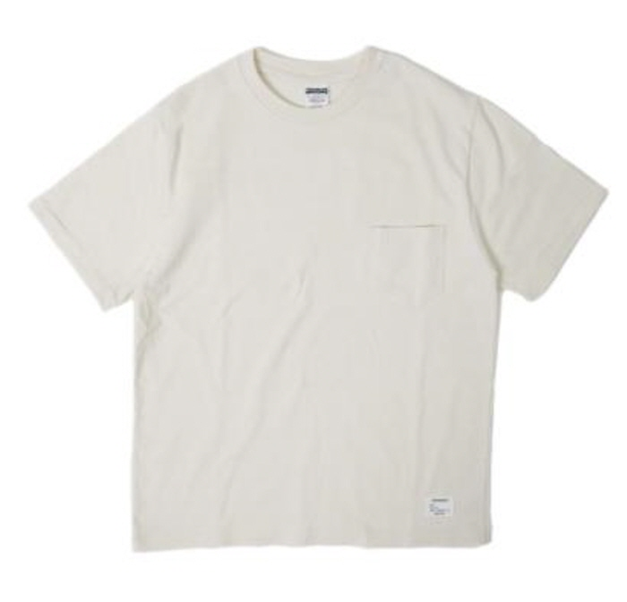 아웃스탠딩 STANDARD POCKET CREWNECK [OATMEAL]