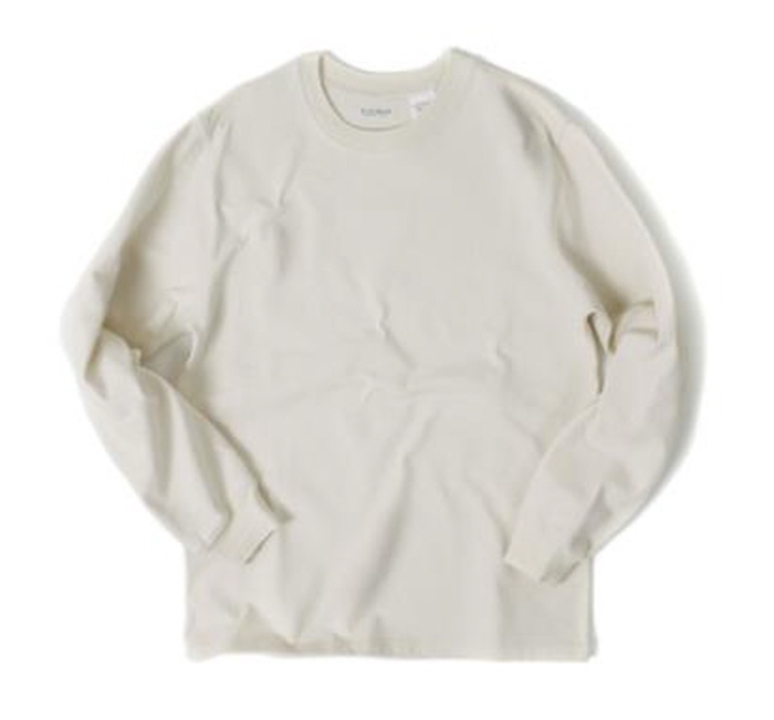 아웃스탠딩 LUSTY CREWNECK SHIRTS [OATMEAL]