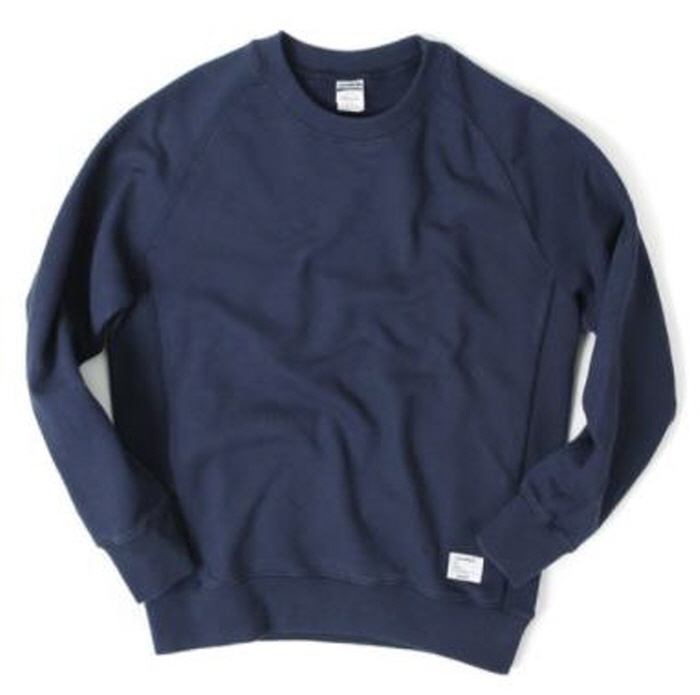 아웃스탠딩 맨투맨 OUTSTANDING CREWNECK SWEAT SHIRT [NAVY]
