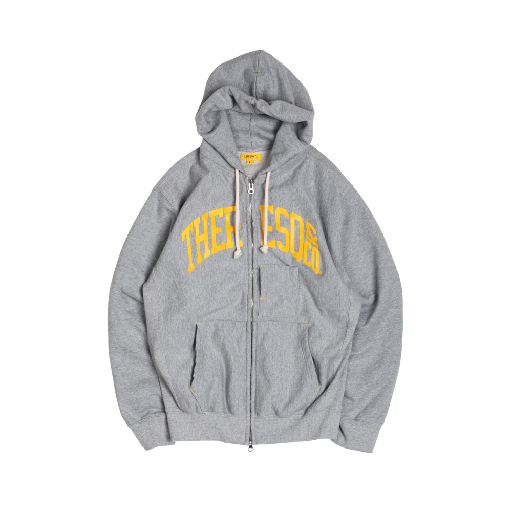 더레스큐 BALLGAME ZIP-UP [M/GREY]