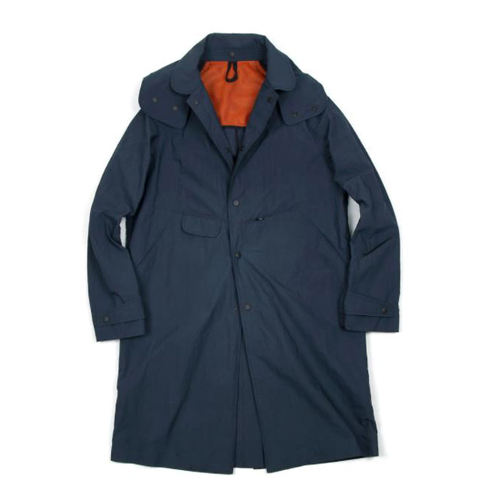비헤비어 PACKABLE COAT_NAVY