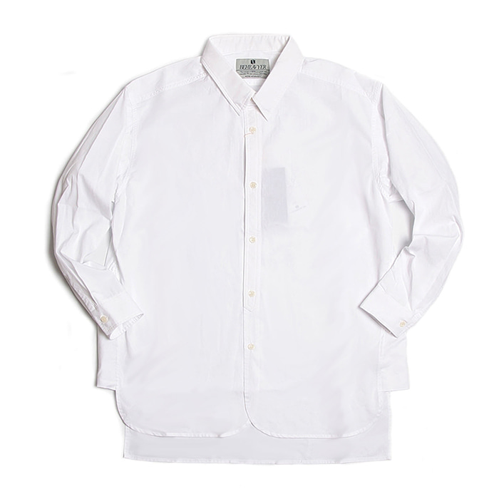 비헤비어 Fly shirts_WHITE