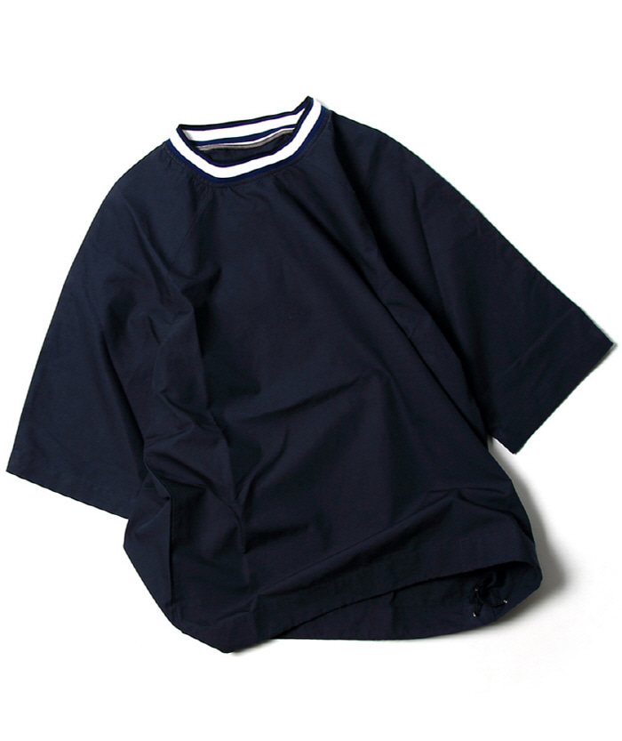 비헤비어 WEEKEND SHIRTS_Navy