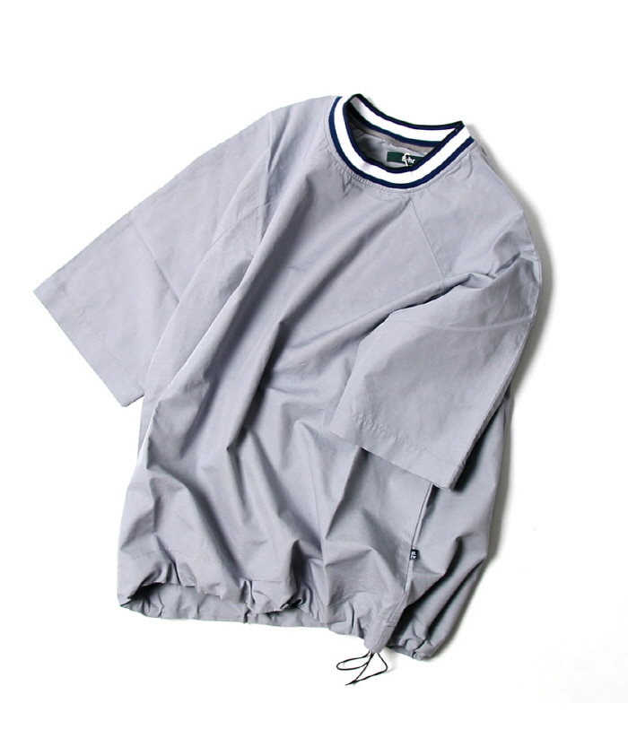 비헤비어 WEEKEND SHIRTS (Blue grey)
