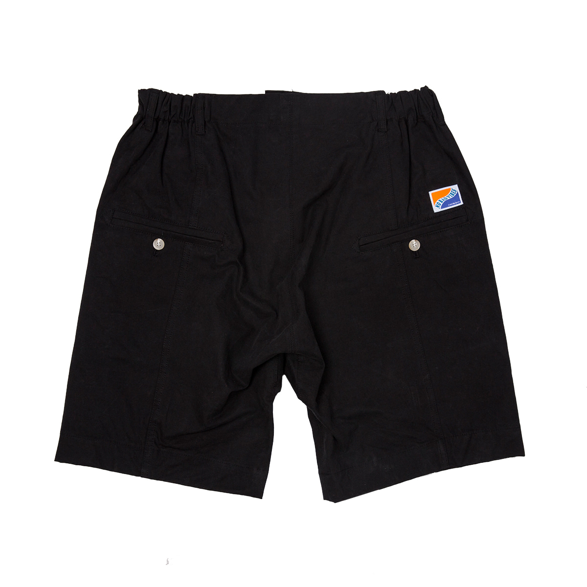샌드파이퍼 SEMI BAGGY SHORTS_BLACK