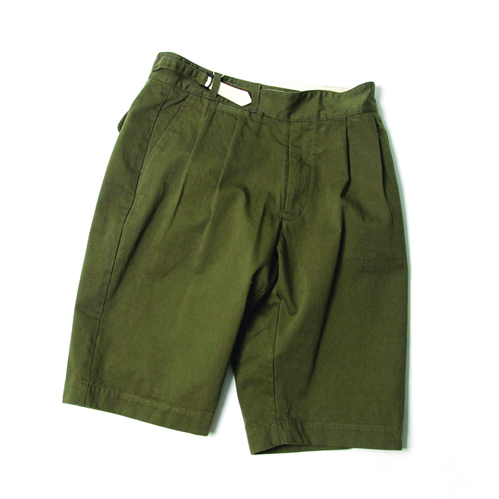 비헤비어 SUMMER HALF PANTS_KHAKI
