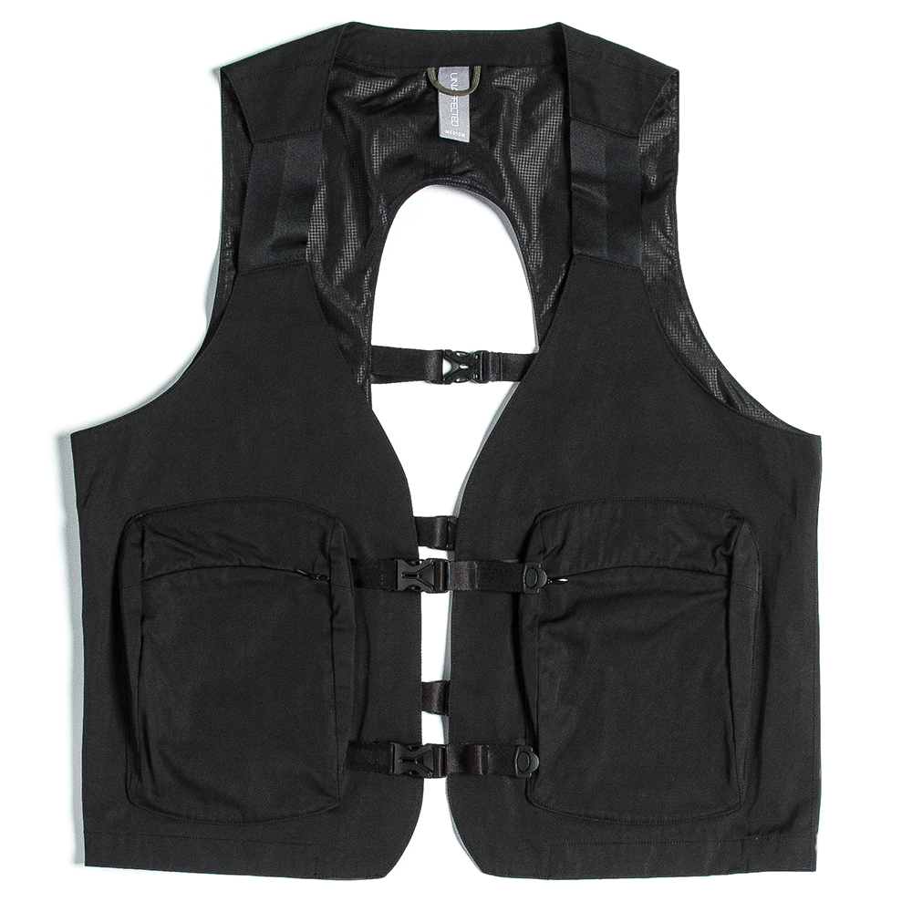 언어팩티드 UTILITY FISHERMAN VEST_Black