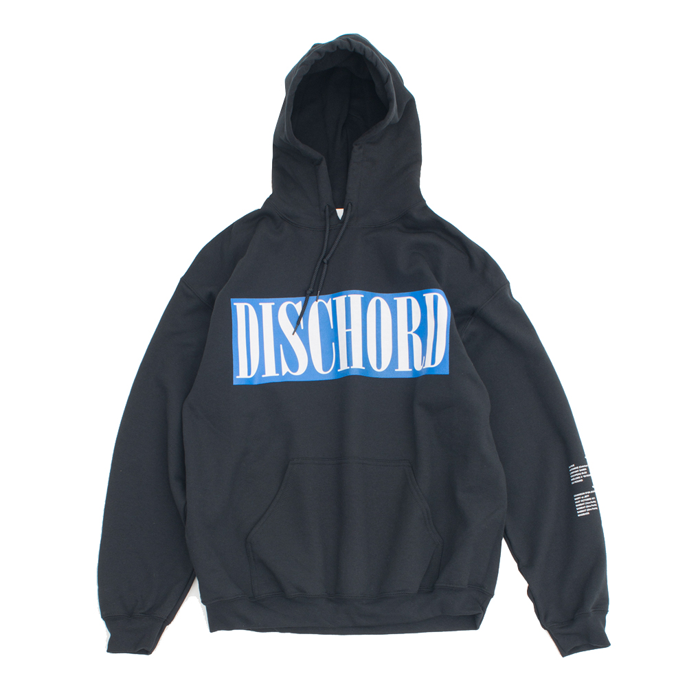 가쿠로 'DISCHORD' Hood Sweat_Black