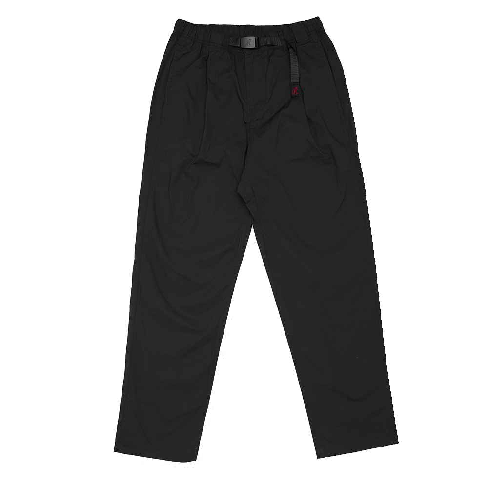그라미치 WEATHER TUCK TAPERED PANTS_Black