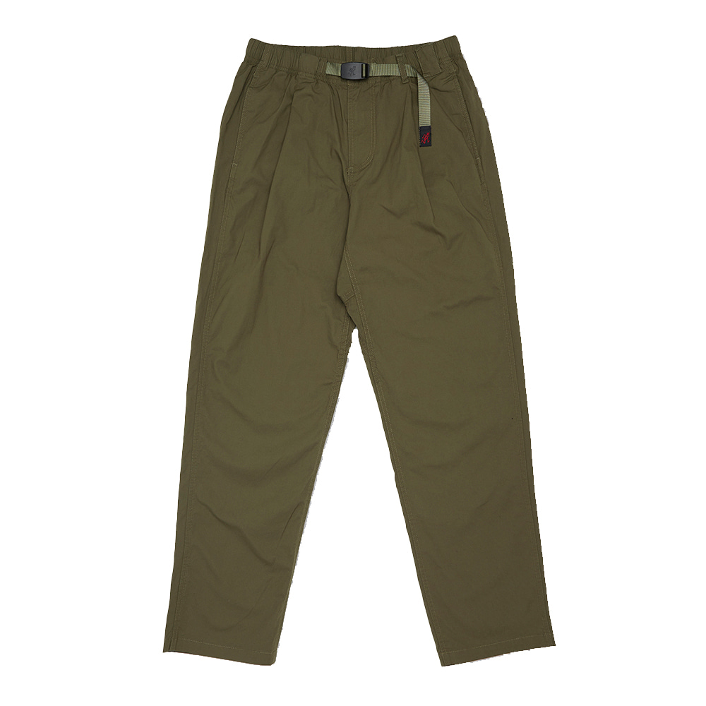 그라미치 WEATHER TUCK TAPERED PANTS_Olive
