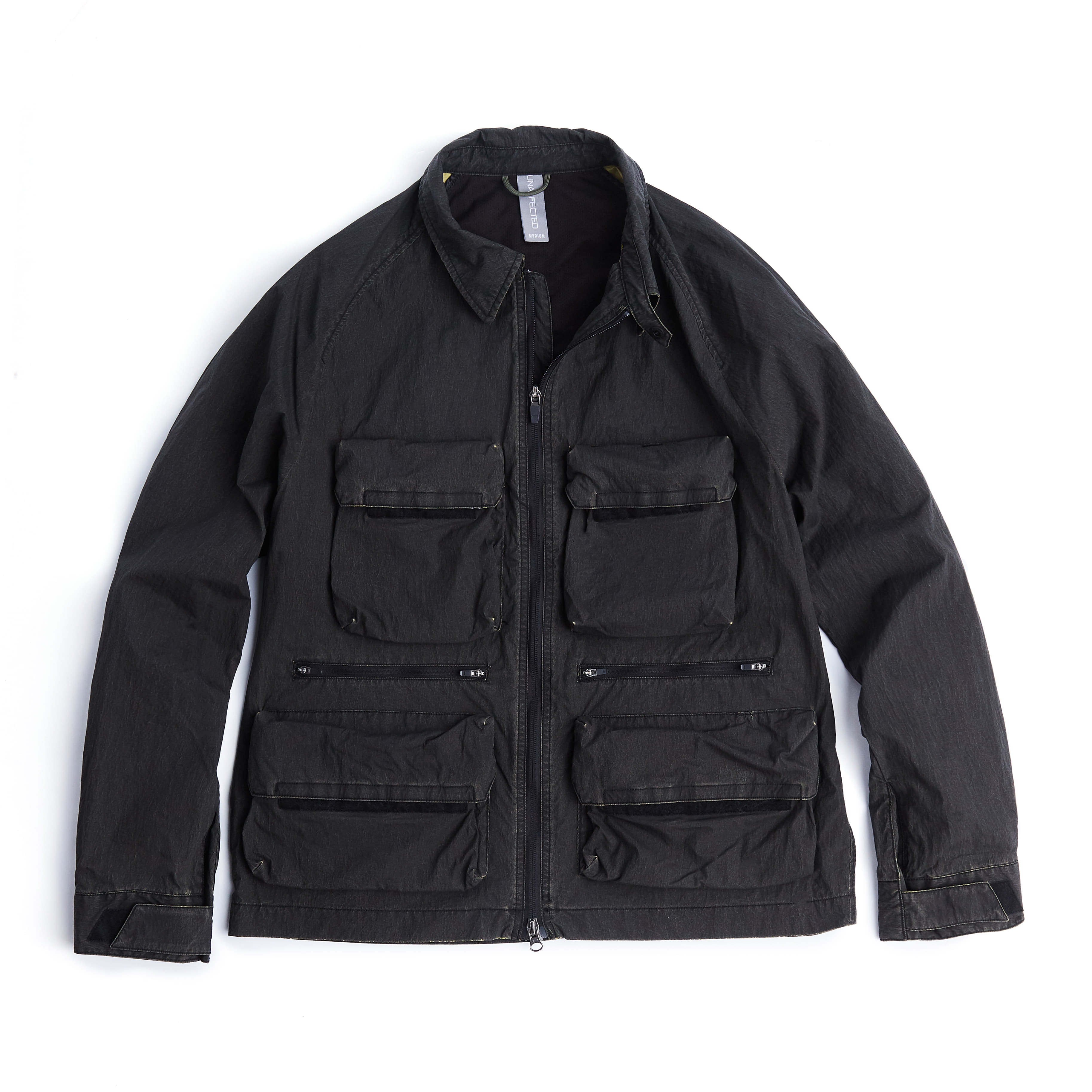 언어펙티드 UTILITY FISHERMAN JUMPER_Cracked Black
