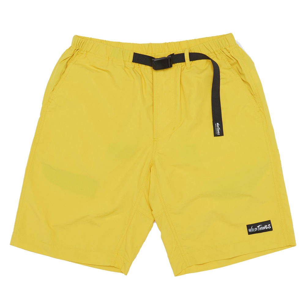 와일드띵스 CLIMBER SHORTS_Lemon