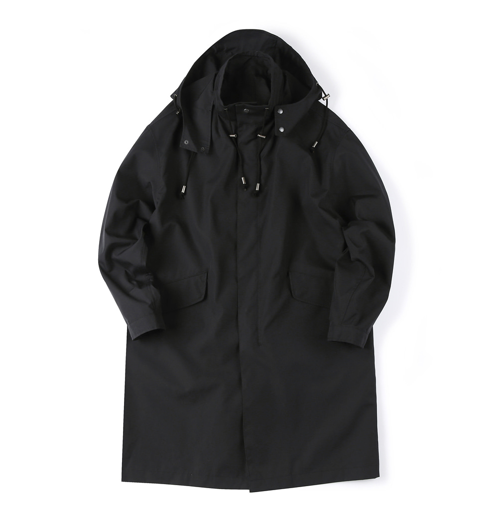 셔터 NANO WEATHER COAT_Black