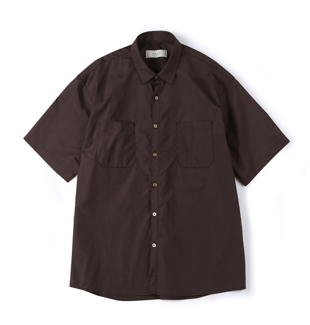셔터 SILKEN COTTON SHIRT_Chestnut