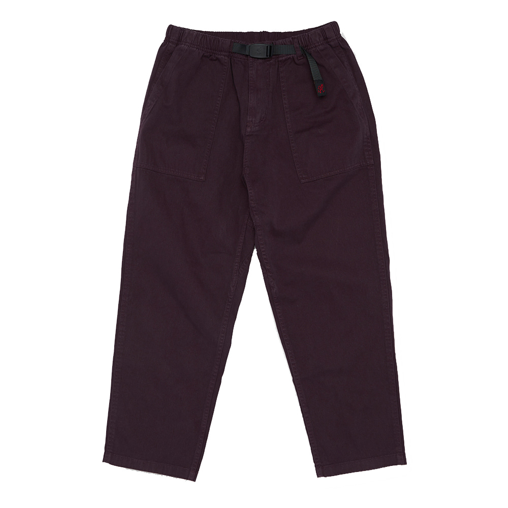 그라미치 LOOSE TAPERED PANTS_Raisin