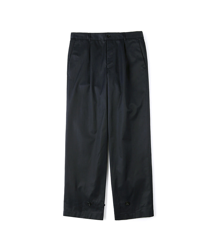 셔터 GABARDINE COTTON PANTS (Navy)