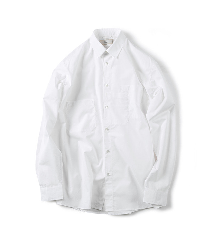 셔터 STRATA POCKET SHIRT (White)