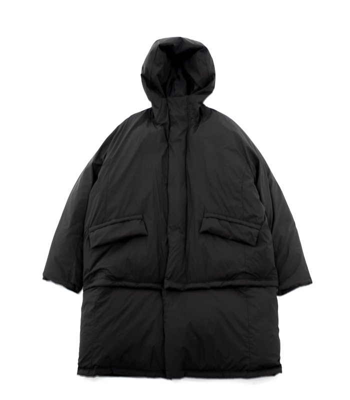 브라운야드 Utility Down Parka_Black
