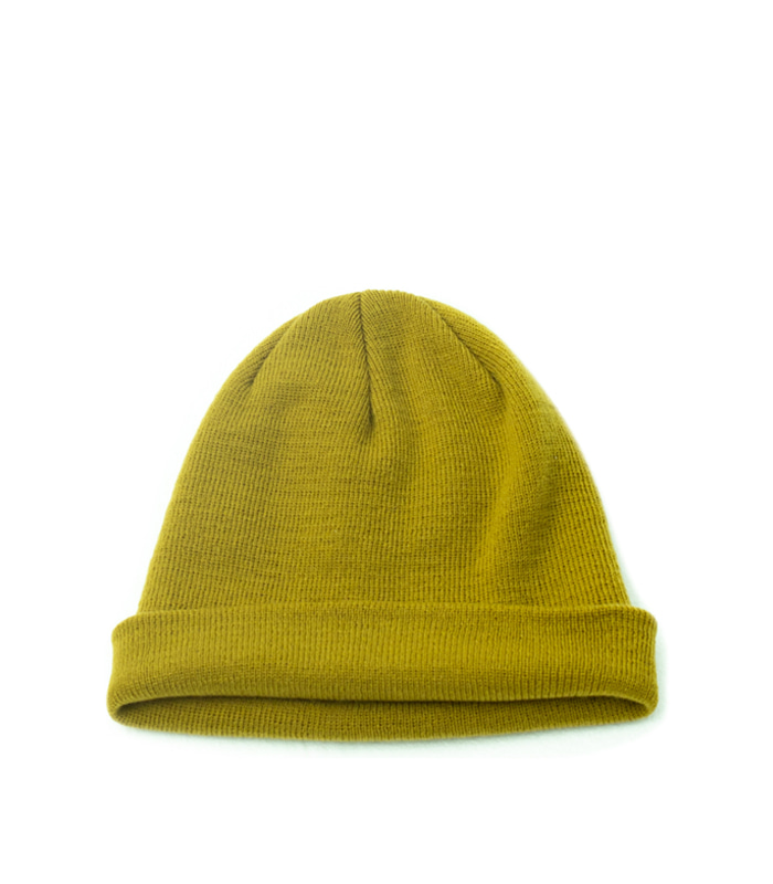 브라운야드 Watch Cap (Mustard)