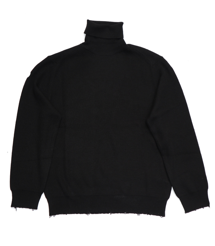 가쿠로 Turtleneck sweater (Black)