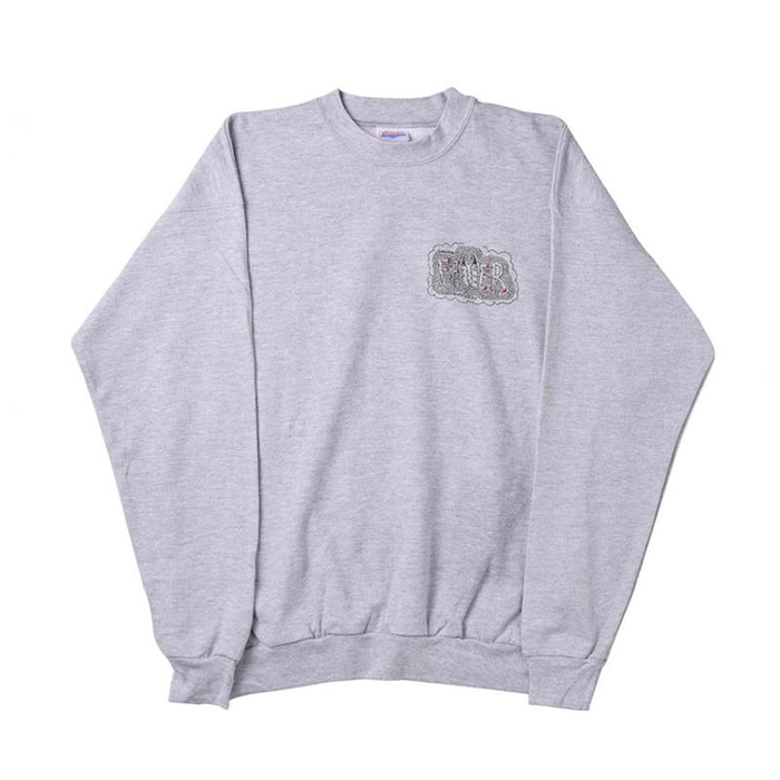 FEVERINC SMOKE EVERYDAY SWEATSHIRTS [Gray]