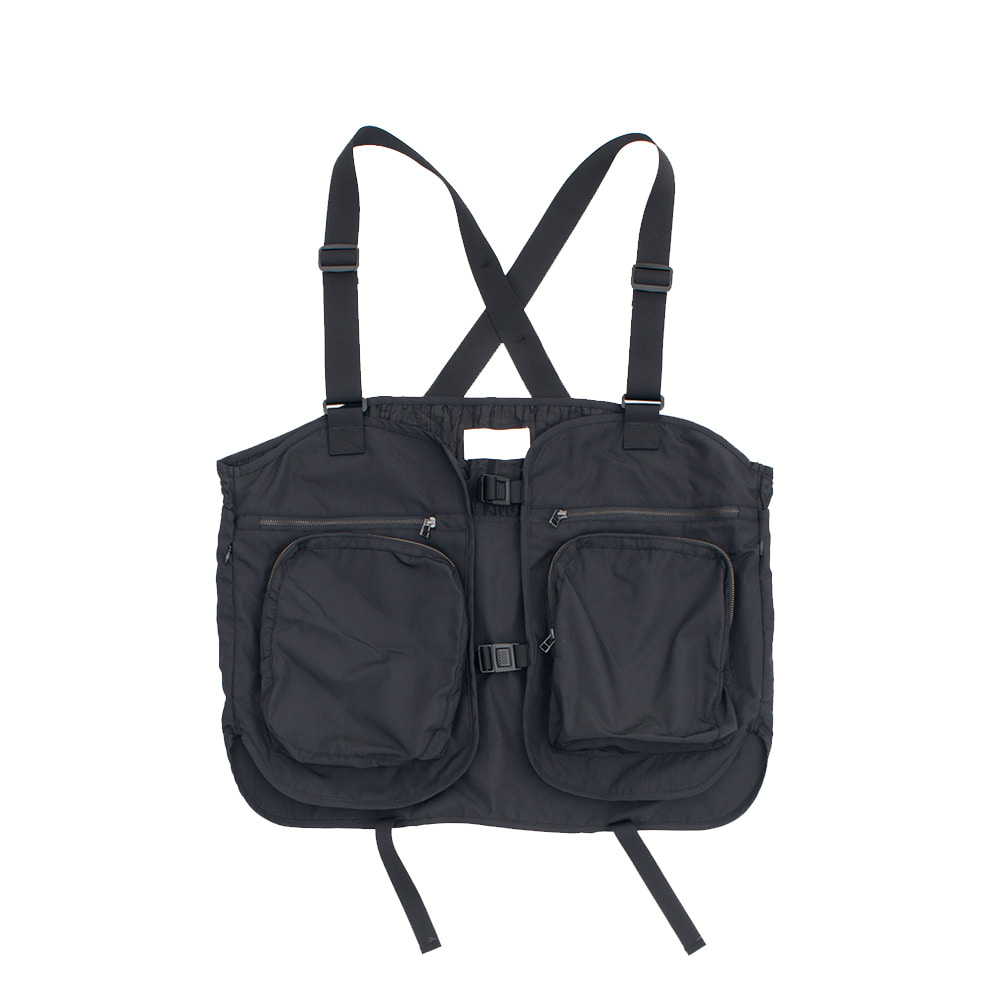 가쿠로 5Pocket Hunting Vest_Black