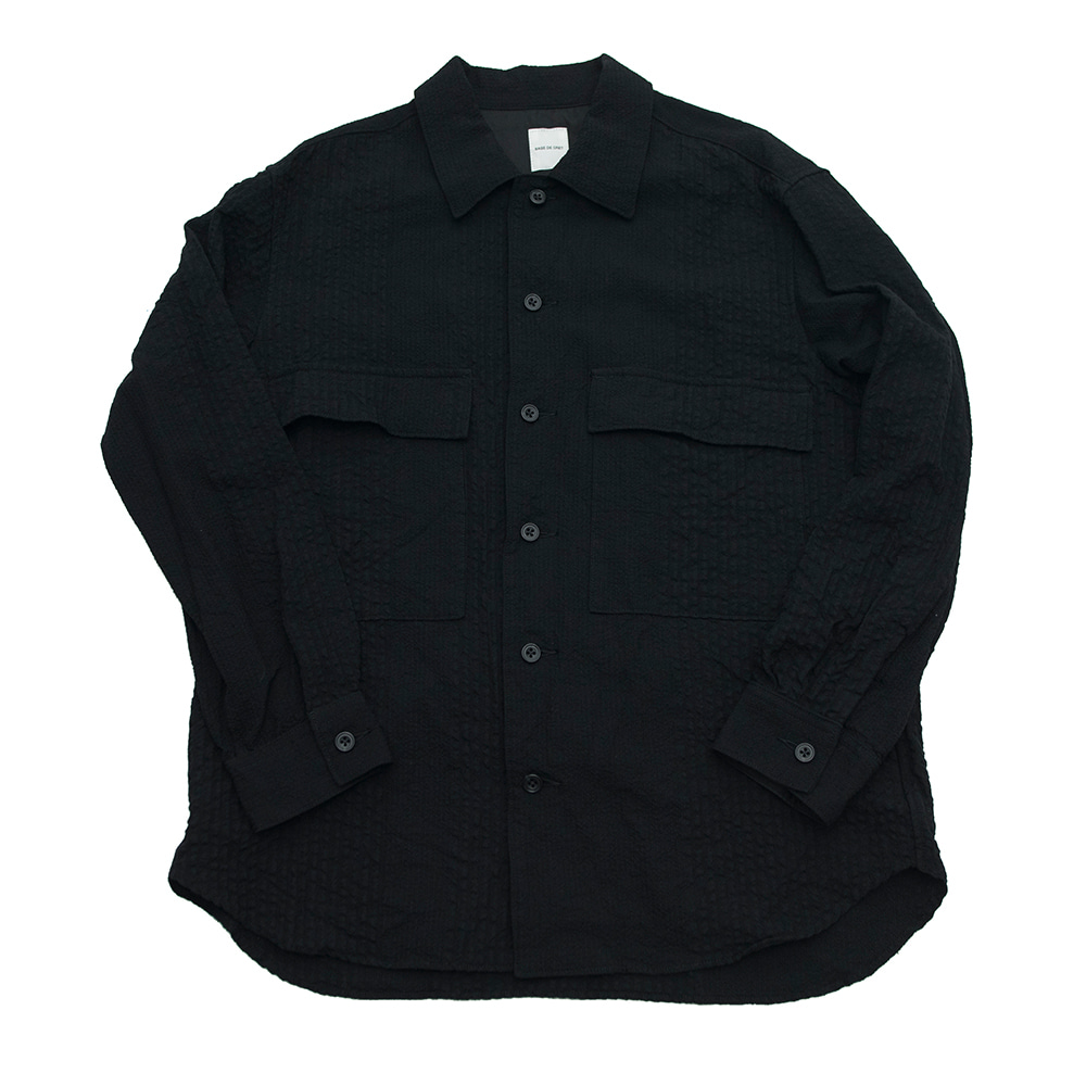 SAGE DE CRET Military shirts_Black