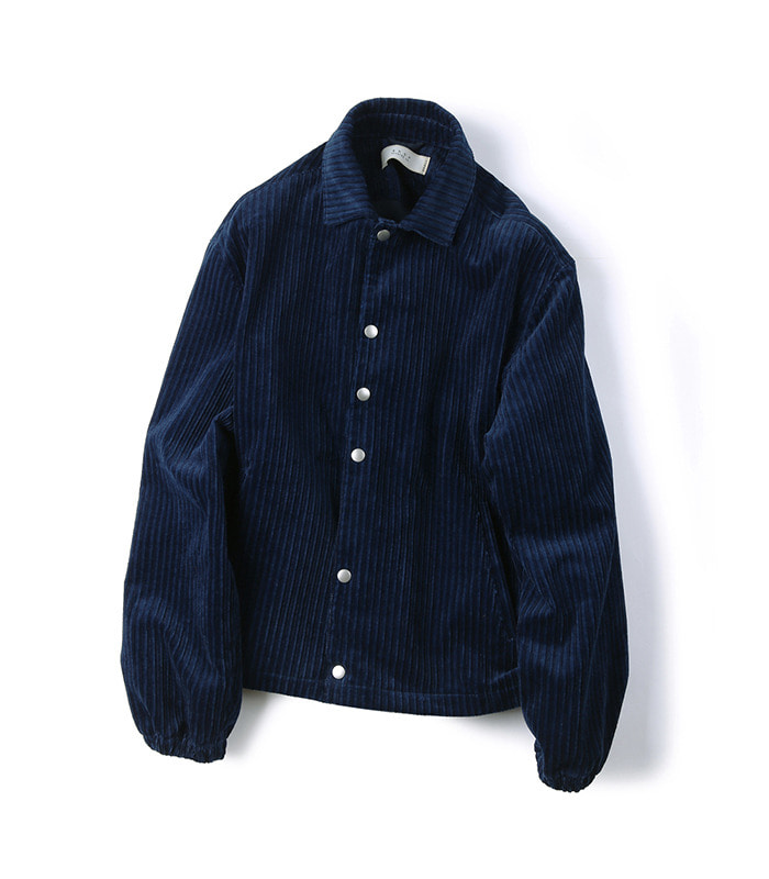 셔터 CORDUROY JACKET (Japan Indigo)