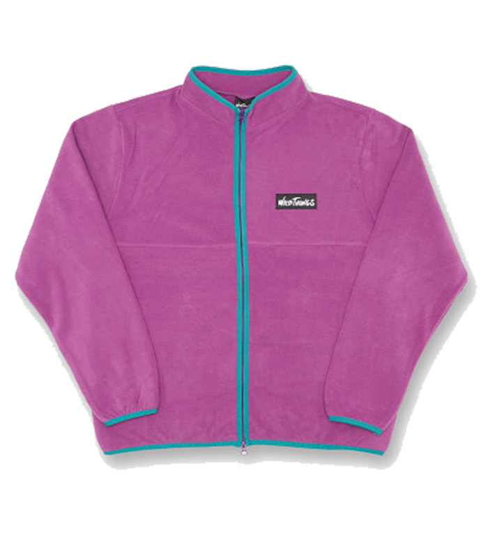 와일드띵스 FLEECE MAGIC JUMPER_Purple