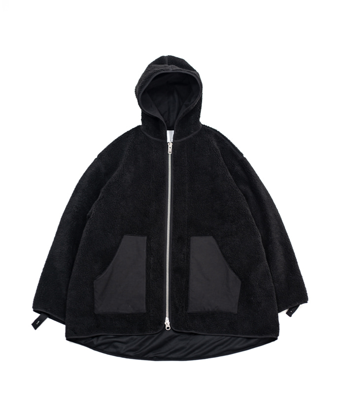브라운야드 Fleece Jumper (Black)