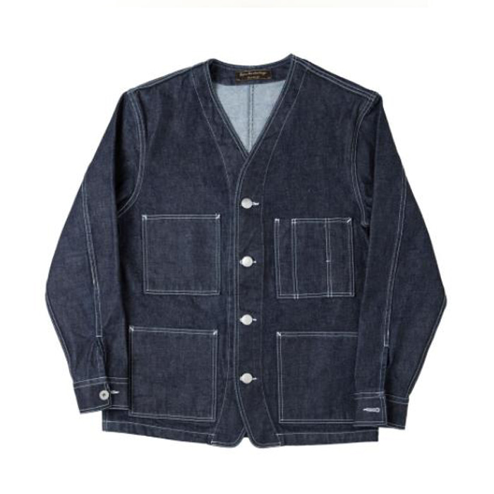 [니들워크] YOSUYA DENIM BLOUSE