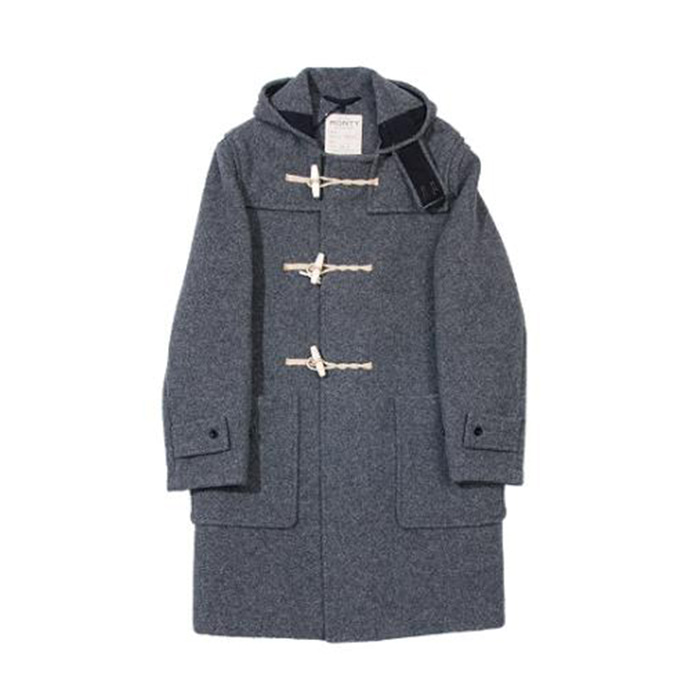 [글로버올] GLOVERALL - Original Monty Duffle Coat [Grey]