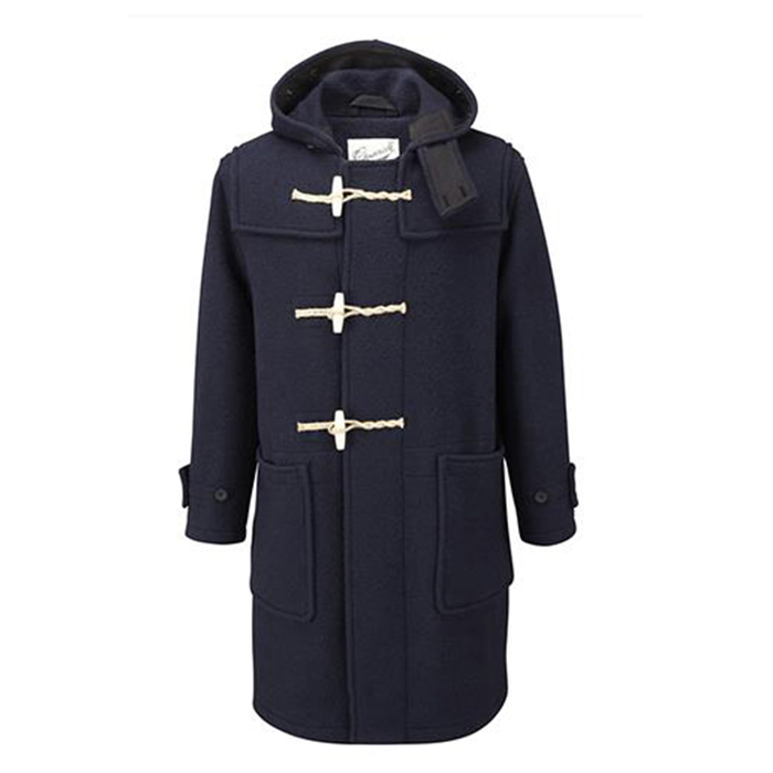 [글로버올] GLOVERALL - Original Monty Duffle Coat [Navy]