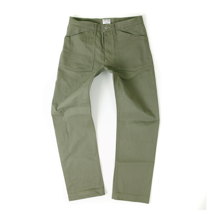 [아웃스탠딩] MILITARY HBT FATIGUE PANTS [KHAKI]