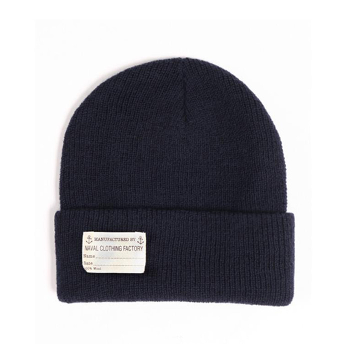 "[YMCL KY] US TYPE Navy Wool Watch Cap ""Navy"""
