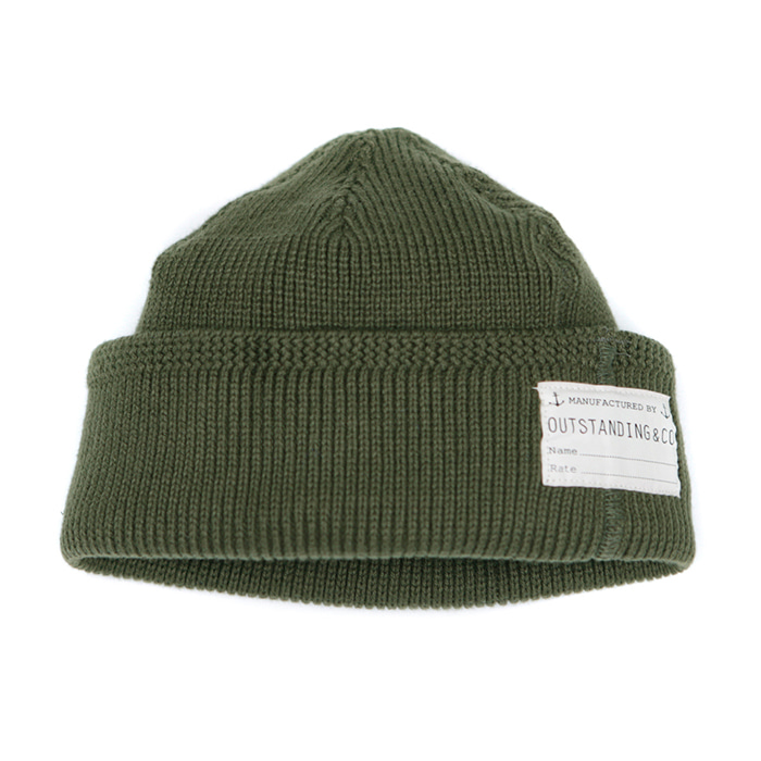 [아웃스탠딩] O.S.NAVY WATCH CAP [KHAKI]