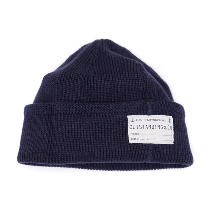 [아웃스탠딩] O.S.NAVY WATCH CAP [NAVY]