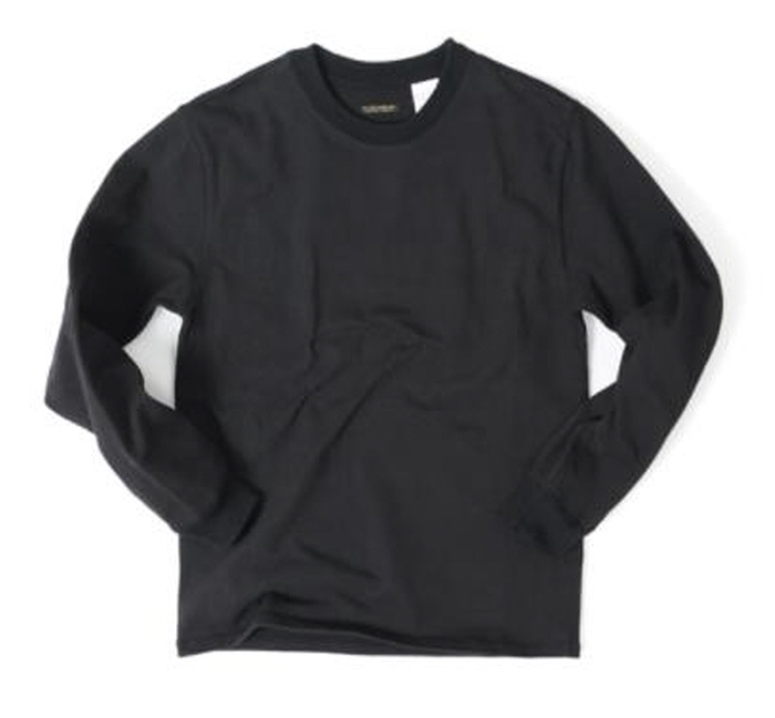 아웃스탠딩 LUSTY CREWNECK SHIRTS [BLACK]
