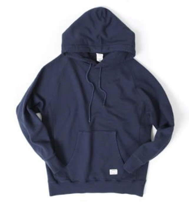 아웃스탠딩 HOODED SWEAT SHIRT  [NAVY]