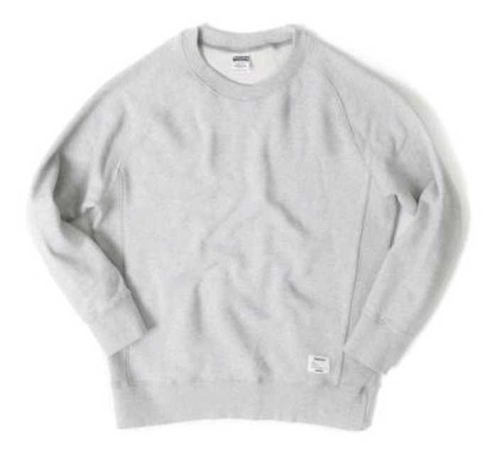 아웃스탠딩 맨투맨 OUTSTANDING CREWNECK SWEAT SHIRT [MELANGE GRAY]