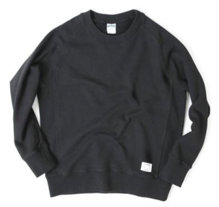 아웃스탠딩 맨투맨 OUTSTANDING CREWNECK SWEAT SHIRT [BLACK]
