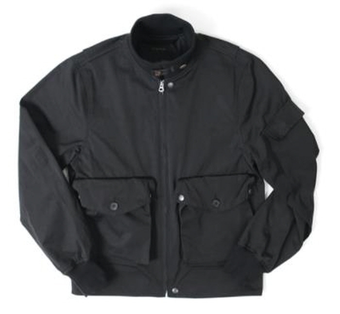 아웃스탠딩 AVIATOR POCKET JACKET [BLACK]