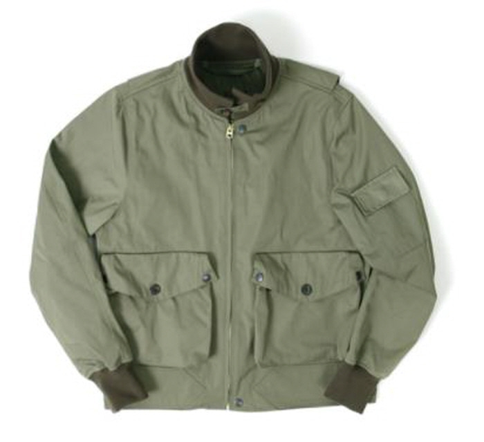 아웃스탠딩 AVIATOR POCKET JACKET [OLIVE GREEN]