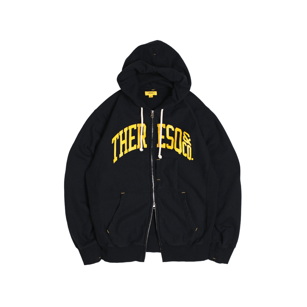 더레스큐 BALLGAME ZIP-UP [BLACK]