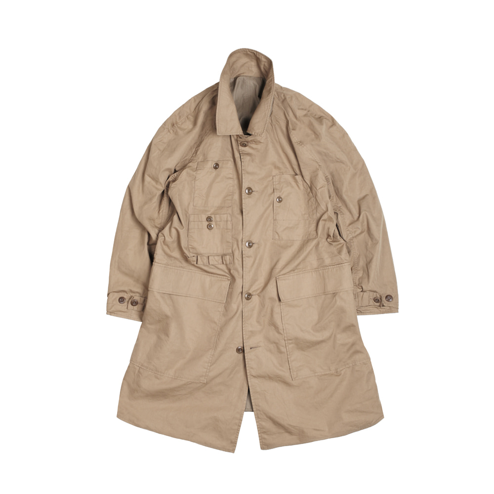 더레스큐 LAMBARENE SHOPCOAT [TAN BEIGE]