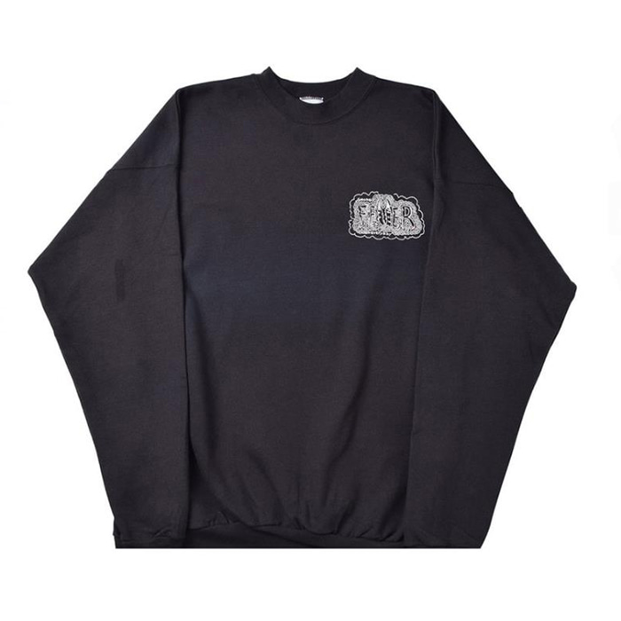 FEVERINC SMOKE EVERYDAY SWEATSHIRTS [Black]
