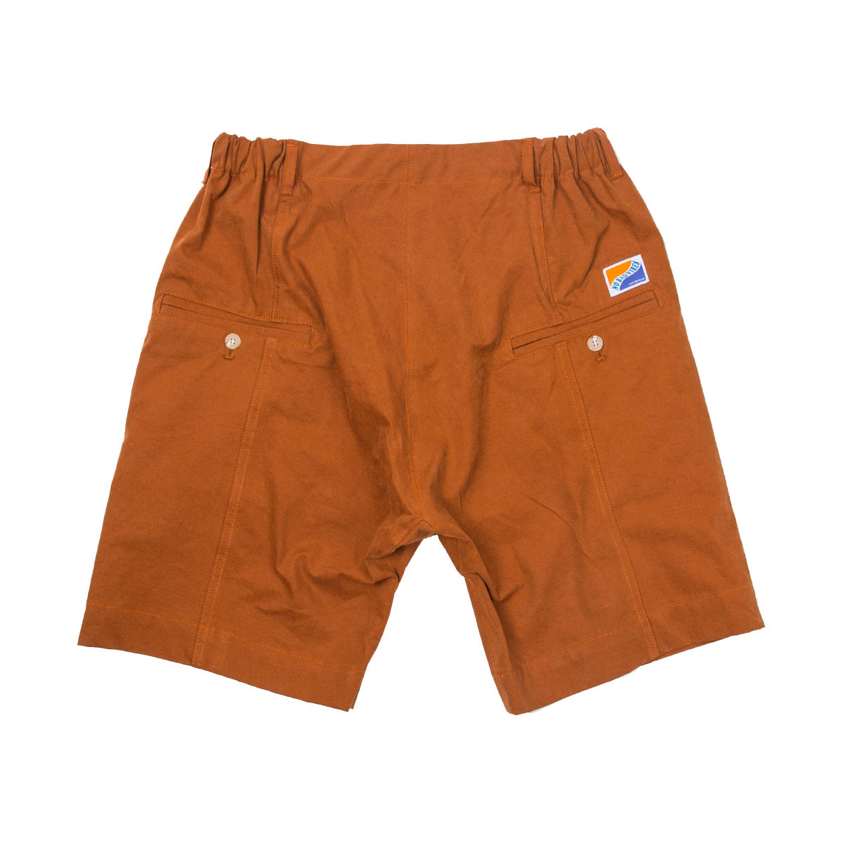 샌드파이퍼 SEMI BAGGY SHORTS_ORANGE